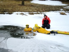 Ice Rescue Training 002