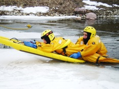 Ice Rescue Training 007