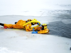 Ice Rescue Training 014